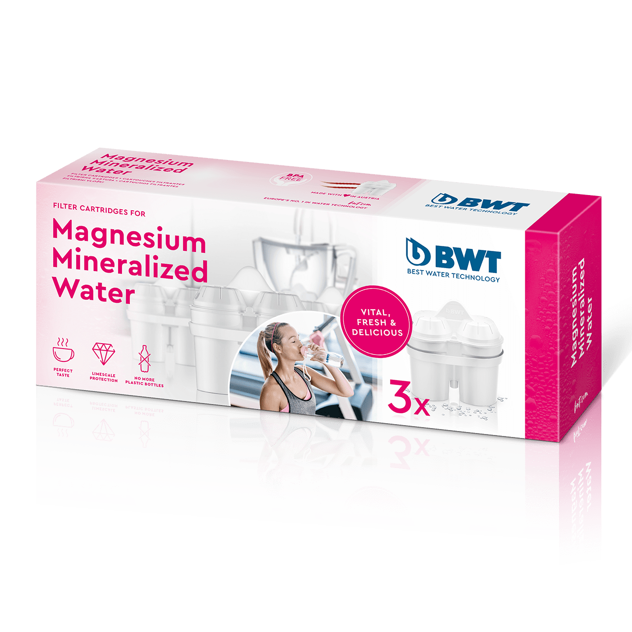 Magnesium Mineralized Water