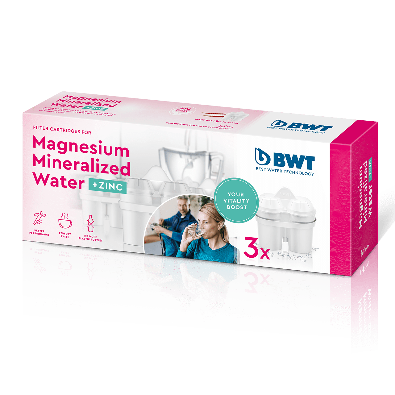Magnesium Mineralized Water with Zinc