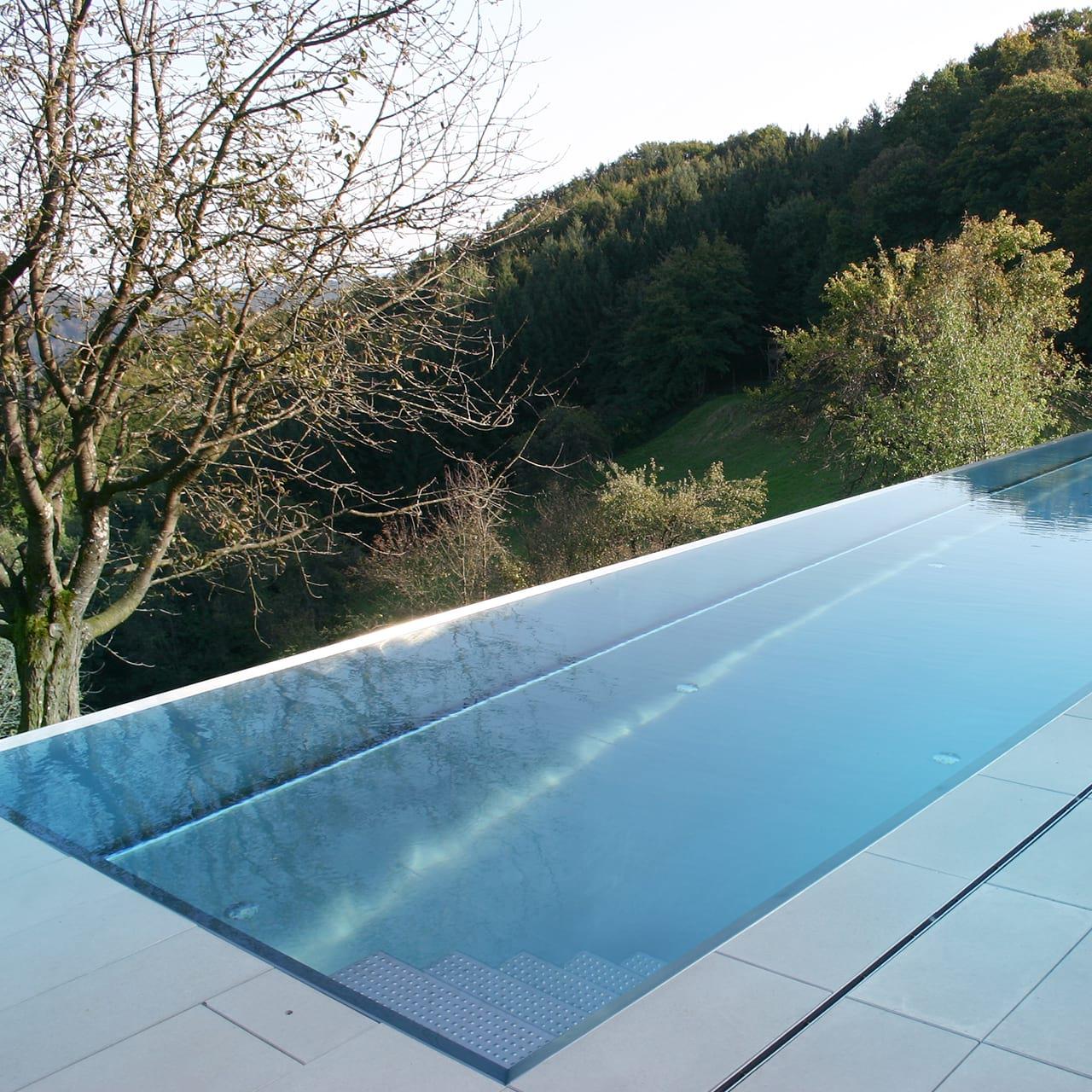 edelstahl pool outdoor st22