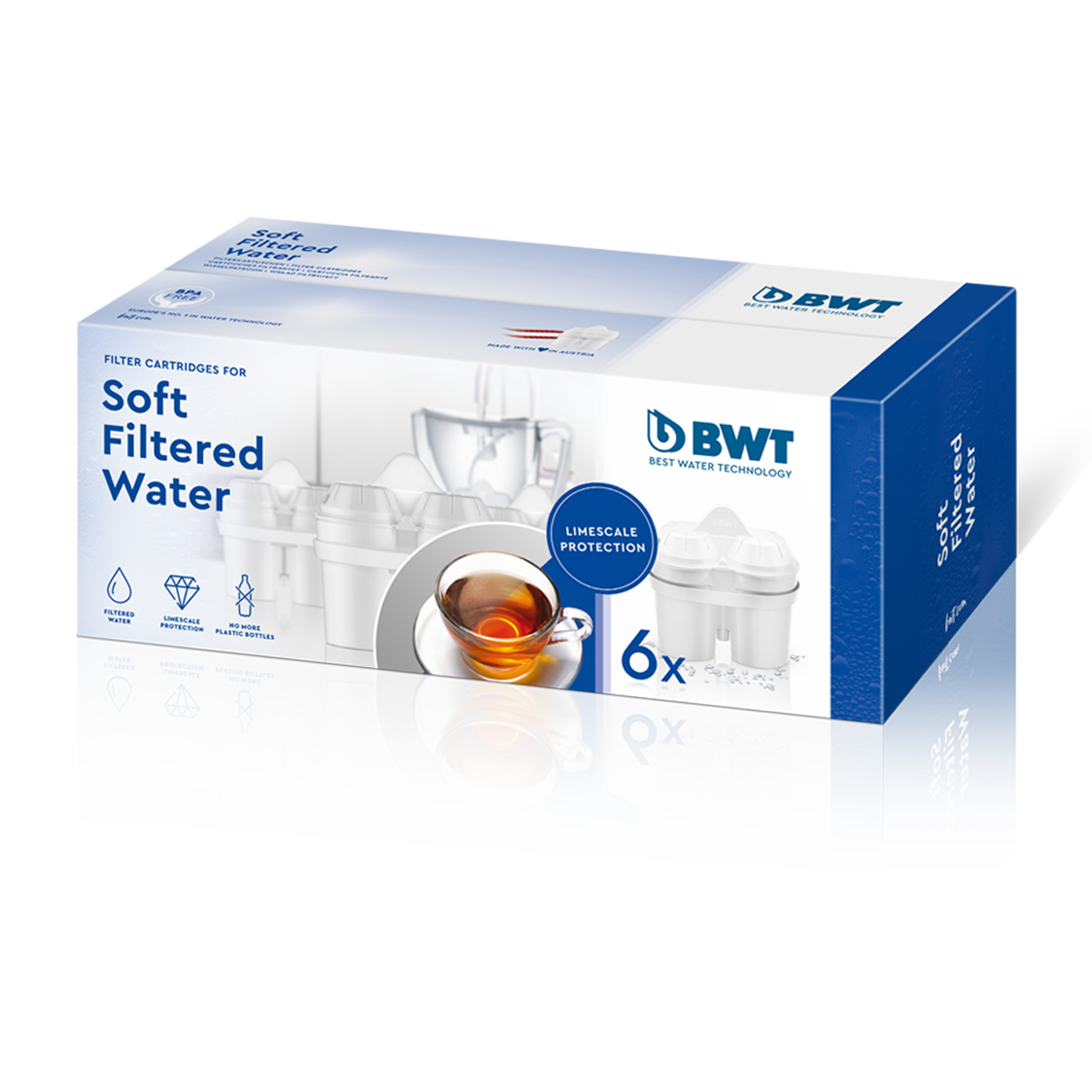 Soft Filtered Water 6er