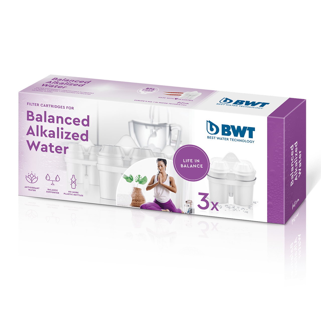 Balanced Alkalized Water_
