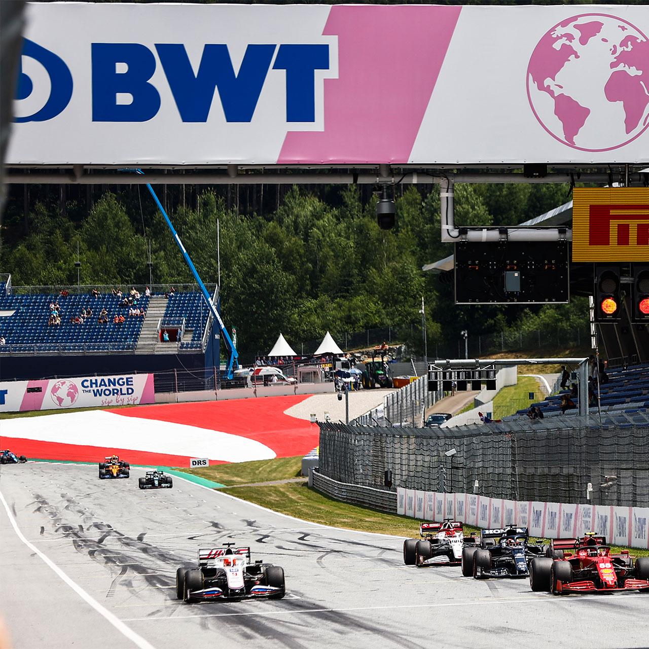 F1 gets pink