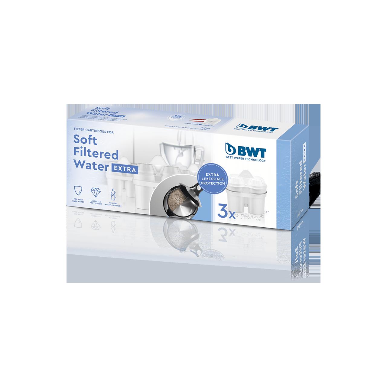 Soft Filtered Water EXTRA 3er Pack