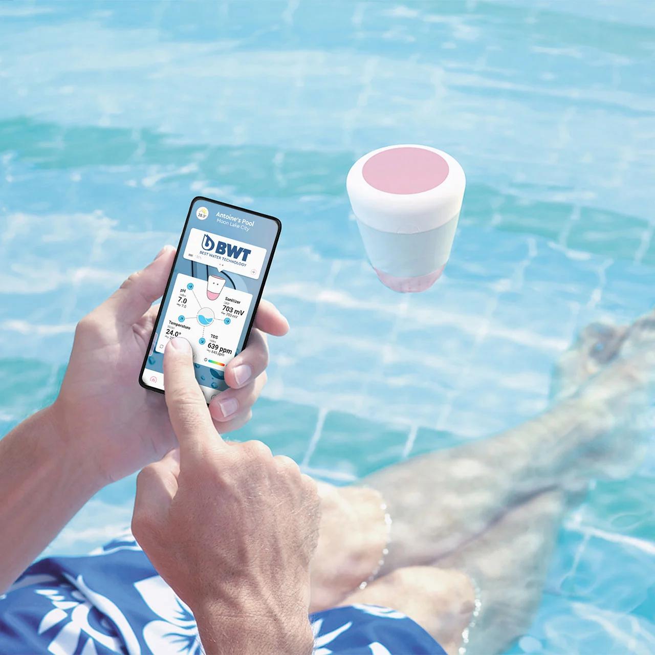 Poolreinigung + Poolwasserqualitätsanalyse