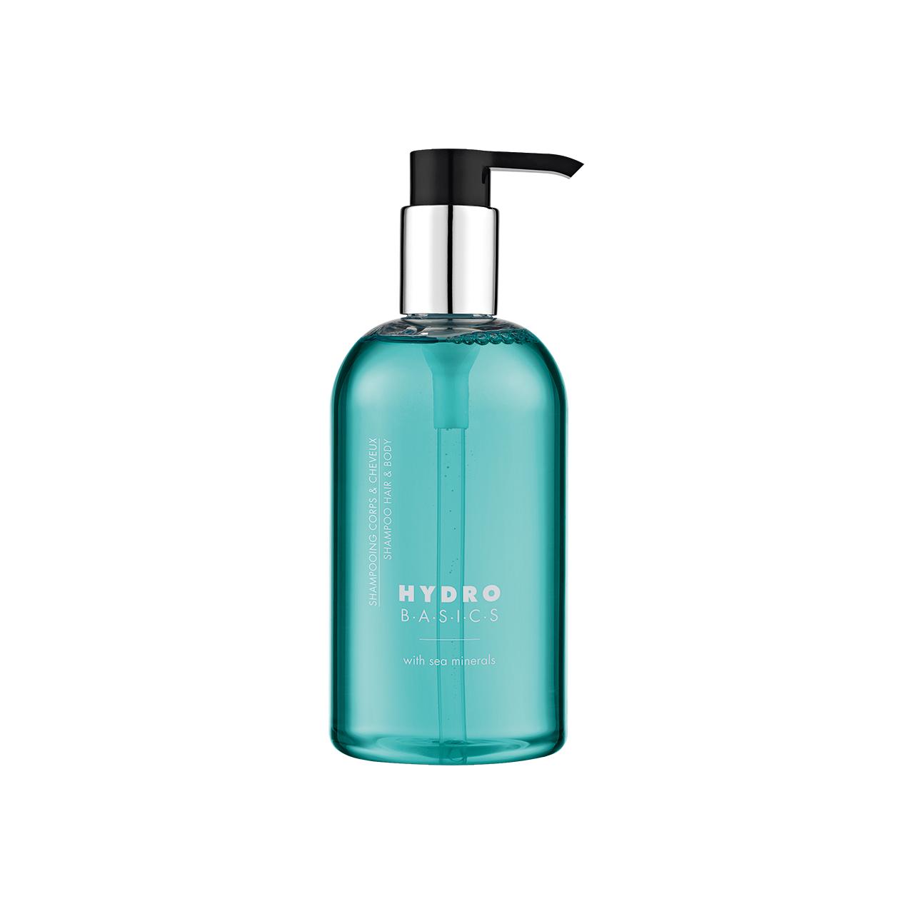 HYDRO BASICS - Haar- und Bodyshampoo im Pumpspender, 300 ml