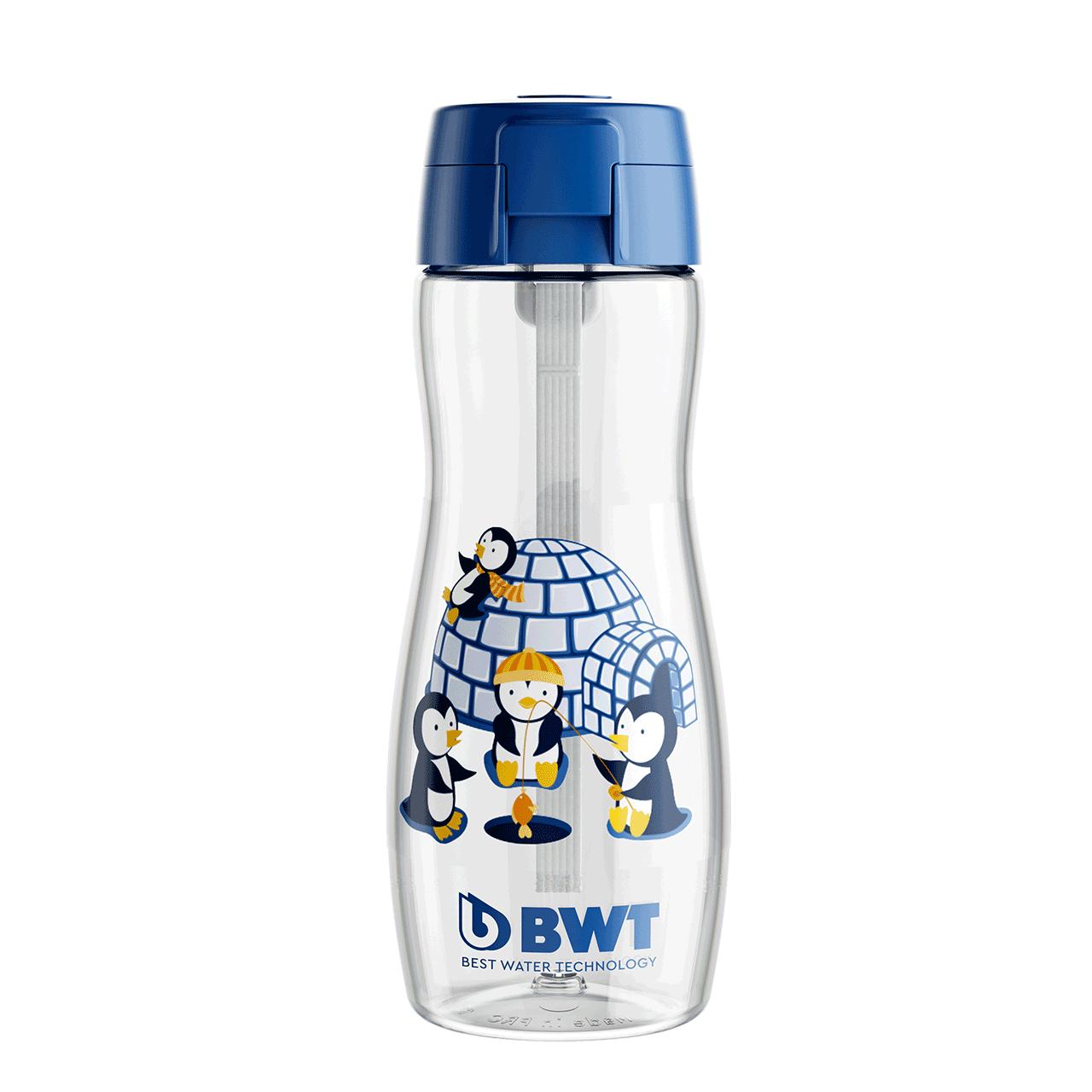 Sport Kids Bottle Refill (Penguin) 375 ml blau